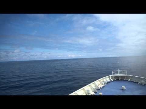 【前面展望】敦賀港~(日本海経由)~苫小牧東港②【新日本海フェリー】