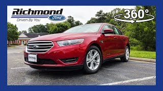 2018 Ford Taurus SEL 360 Degree Virtual Test Drive
