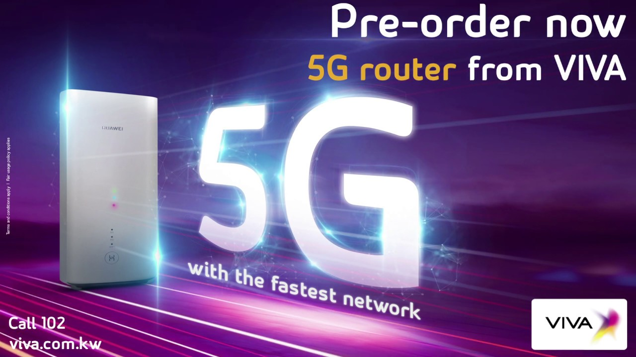 Pre-order now 5G router from VIVA