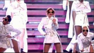 HD - CHERYL COLE - FIGHT FOR THIS LOVE (and SHOW ME LOVE) -  (Live, the Brit Awards 2010) W/LYRIC
