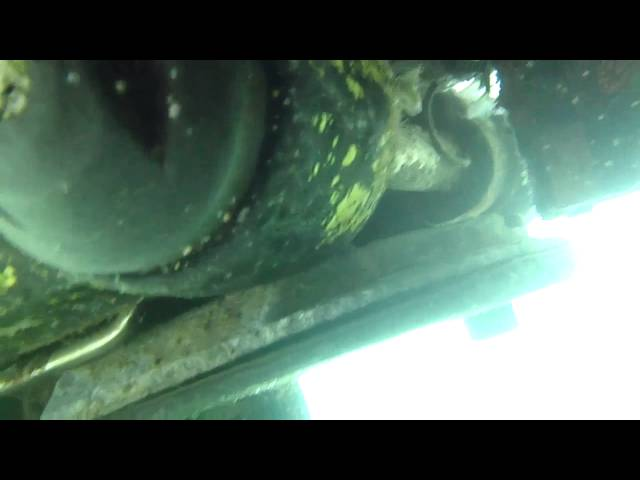 Drifter 10/26/12 Hull Service Condition Video