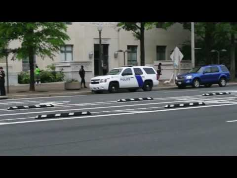 D.C. Metro PD and Federal Protective Service on scene dispute footage.
