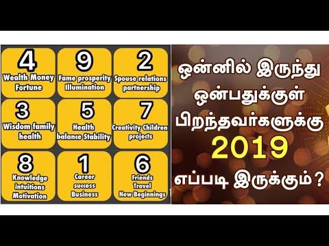 Numerology Rasi Palan 2019 - New Year Rasi Palan 2019 - Rasi Palan on Date Of Birth