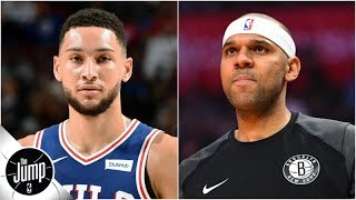 Jared Dudley calls Ben Simmons 'average' in the half-court -- B.S. or Real Talk? | The Jump