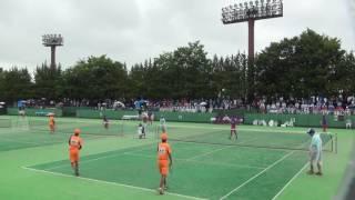 25日 ソフトテニス男子 団体 高田商×羽黒 準々決勝 thumbnail