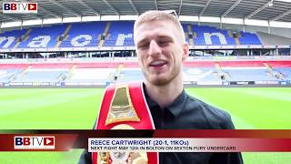 REECE CARTWRIGHT 'BUZZING' TO GET A FIGHT ON SEXTON-FURY UNDERCARD
