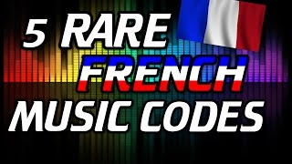 5 RARE ROBLOX MUSIC FRENCH CODES !