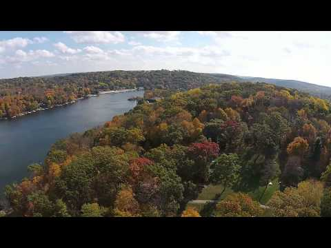 Lake Hopatcong, NJ Views from a drone GlideByJJ