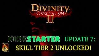 Divinity: Original Sin 2 - Kickstarter Update 7: Skill Tier 2 Unlocked!