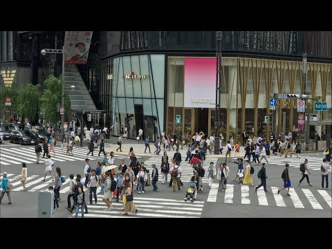Ginza's Observation Deck View, Shopping & Lunch Spot