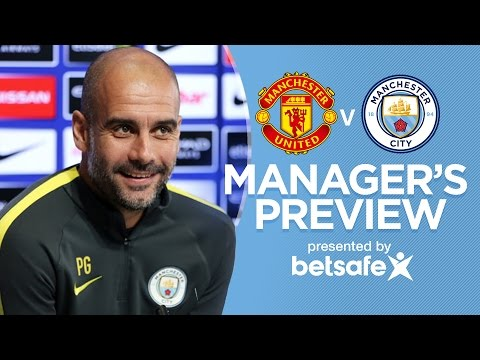 PEP ON THE MANCHESTER DERBY!   Man United v Man City   Guardiola Press Conference