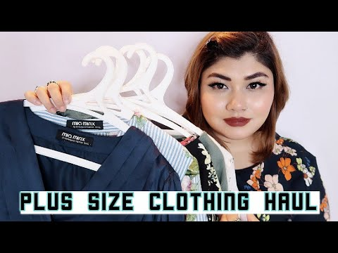 MIAMINX Plus Size Clothing Haul  Jabong  Bharti Puri