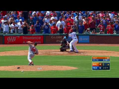 Adrian Beltre Joins The 3,000 Hit Club With A Double