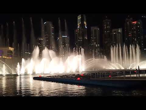 The Dubai Fountain 😍💘