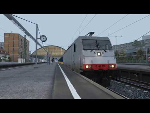 TRAXX 186 - Intercity service from Altenburg to Bad Rinckenburg - EP. 1 |