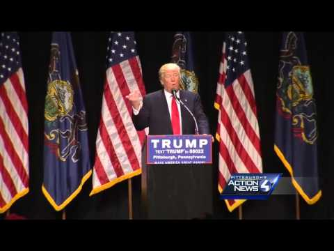Full Speech: Republican Presidential candidate Donald Trump rally in Pittsburgh