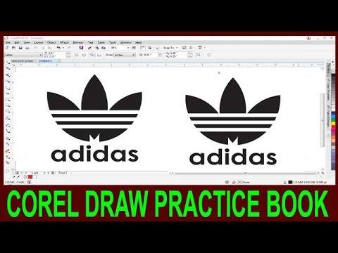 How To Make Logo In Corel Draw || Corel Draw Adidas Logo Degine In Hindi ||