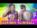 ABRINDO SLIMIBALL SURPRESA COM MINHA M  E   Mileninha