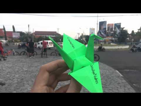 70th Anniversaries of Hiroshima and Nagasaki - Paper Crane @Jogjakarta