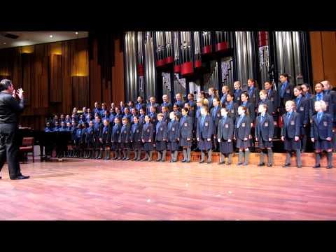 RGJS Choir 1st 3 songs at Applous 2011