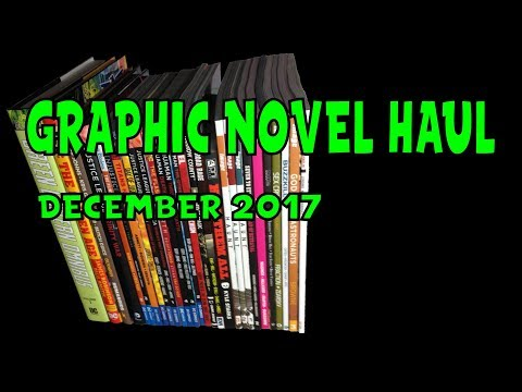 Graphic Novel Haul December 2017