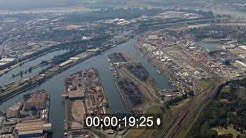 Hafen Duisport in Duisburg im Bundesland Nordrhein-Westfalen, Deutschland