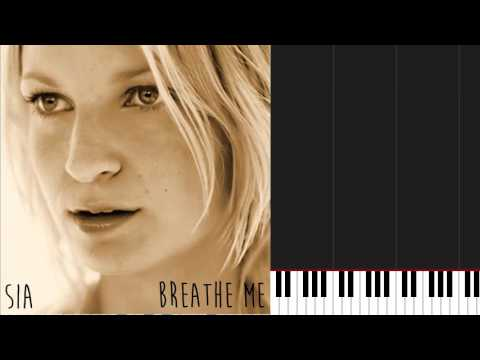 How To Play Breathe Me By Sia On Piano Sheet Music Youtube