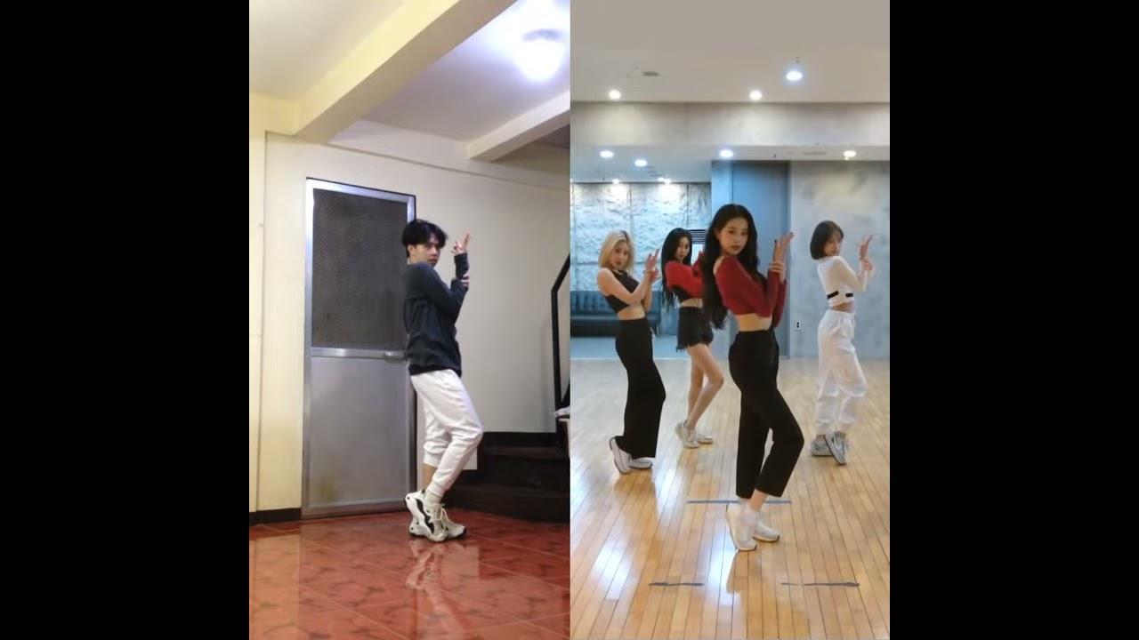IZ*ONE (아이즈원) - 'Panorama' Dance Cover [comparison ver.] | KVN Barrera