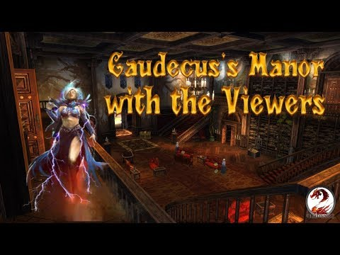 WoW player in Guild Wars 2 - Caudecus's Manor with the Viewers thumbnail