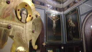 Фото Божественная литургия 18 апреля 2021, Храм Христа Спасителя, г. Москва