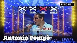 Antonio canta al contrario