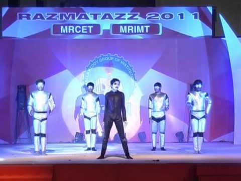 Mrcet Annual 2011 Dance Day Mba Super Robots N Mayhem Dance