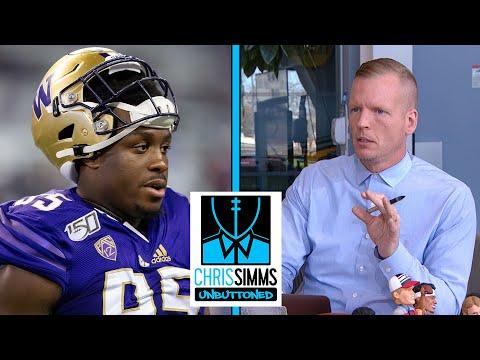 Chris Simms' Top 5 2021 NFL Draft DT rankings | Chris Simms Unbuttoned | NBC Sports
