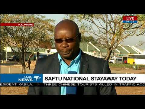SAFTU National stayaway - Limpopo