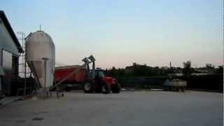 AZIENDA AGRICOLA DA ROS: SAME IRON 165.7+DUMPER ZACCARIA