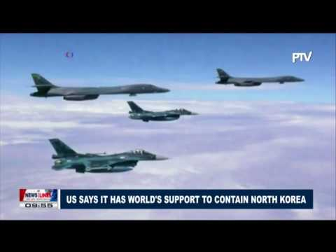 GLOBAL NEWS: U.S. says it has world's support to contain North Korea