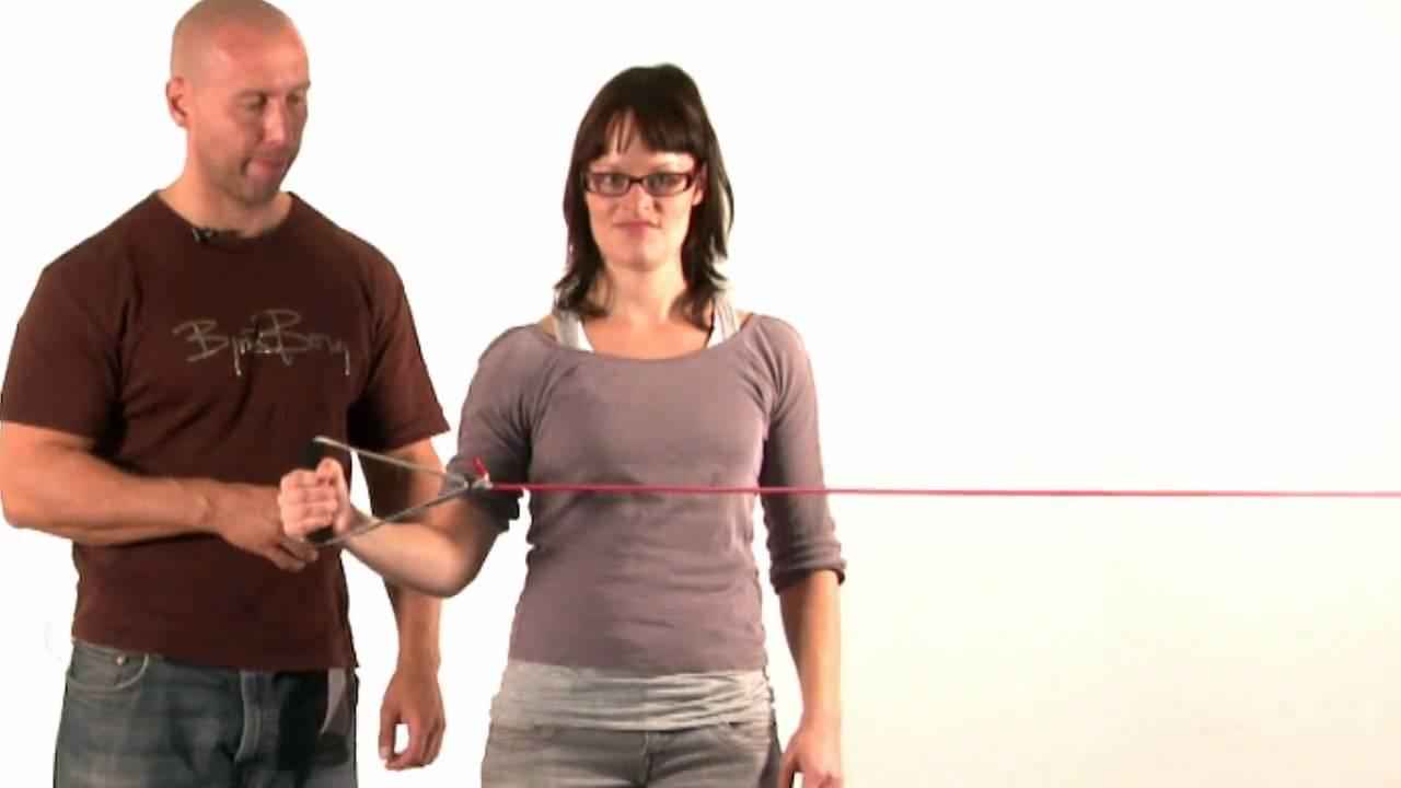 skulderøvelser med elastik