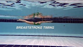 이현진 수영) Breaststroke /#평영 , #평영타이밍 연습