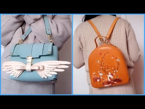Designer Creative BAGS and Handmade Leather Products from Talented Designers! Amazing ART video