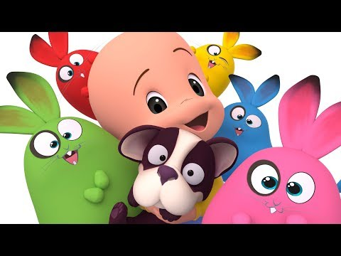 Los globos de Cuquín y más vídeos - aprende colores con la Familia Telerín