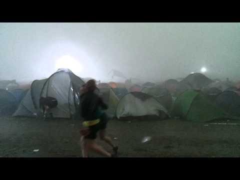 Storm Pukkelpop 2011 - Camping site