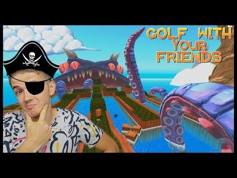 PIRÁTSKÁ MAPA! - Golf With Your Friends /w Jirka, Bax, Herdyn, Artix