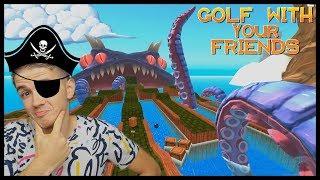 PIRÁTSKÁ MAPA! - Golf With Your Friends /w Jirka, Bax, Herdyn, Artix thumbnail
