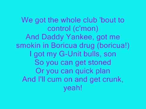daddy yankee Rompe Remix feat GUnit con letra