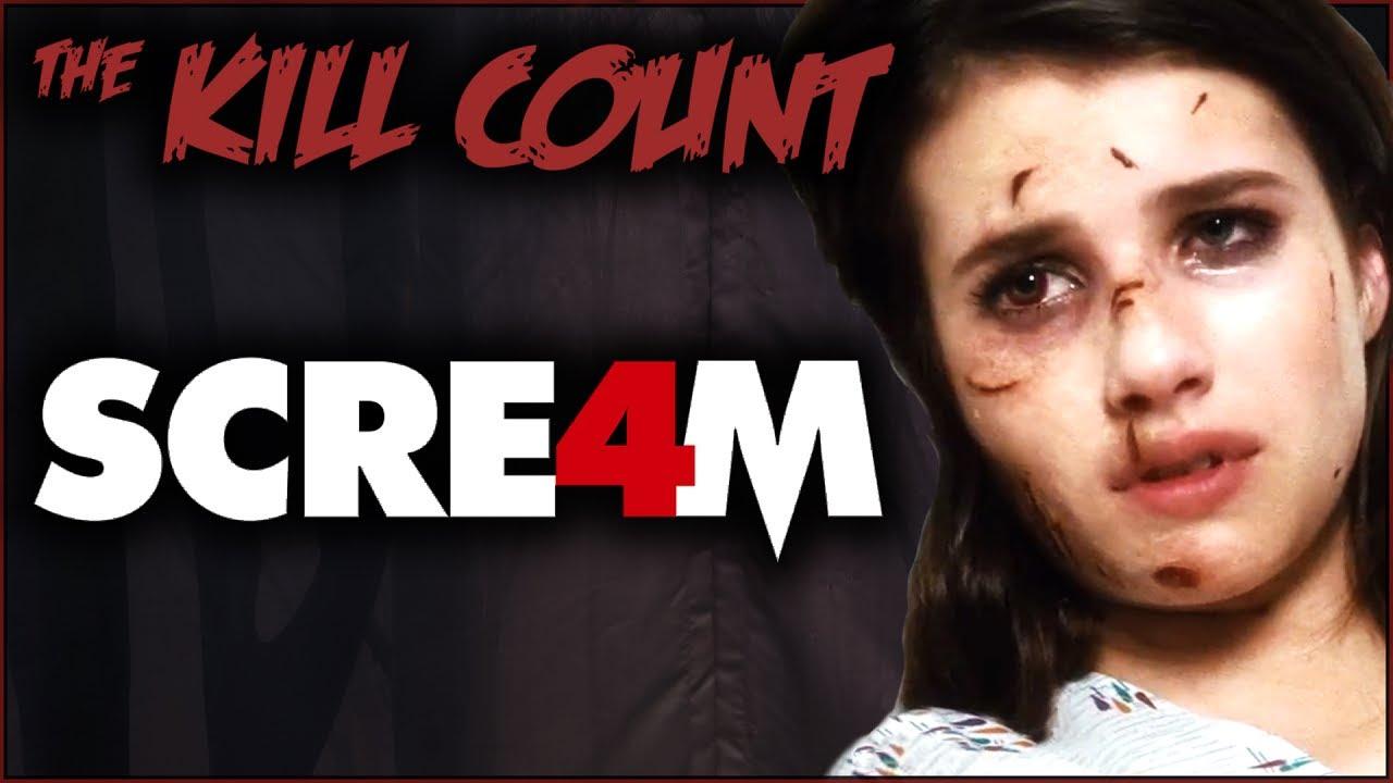 Download Scream 4 (2011) KILL COUNT