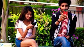 Double meaning Video calling with gf #3! Prank in india