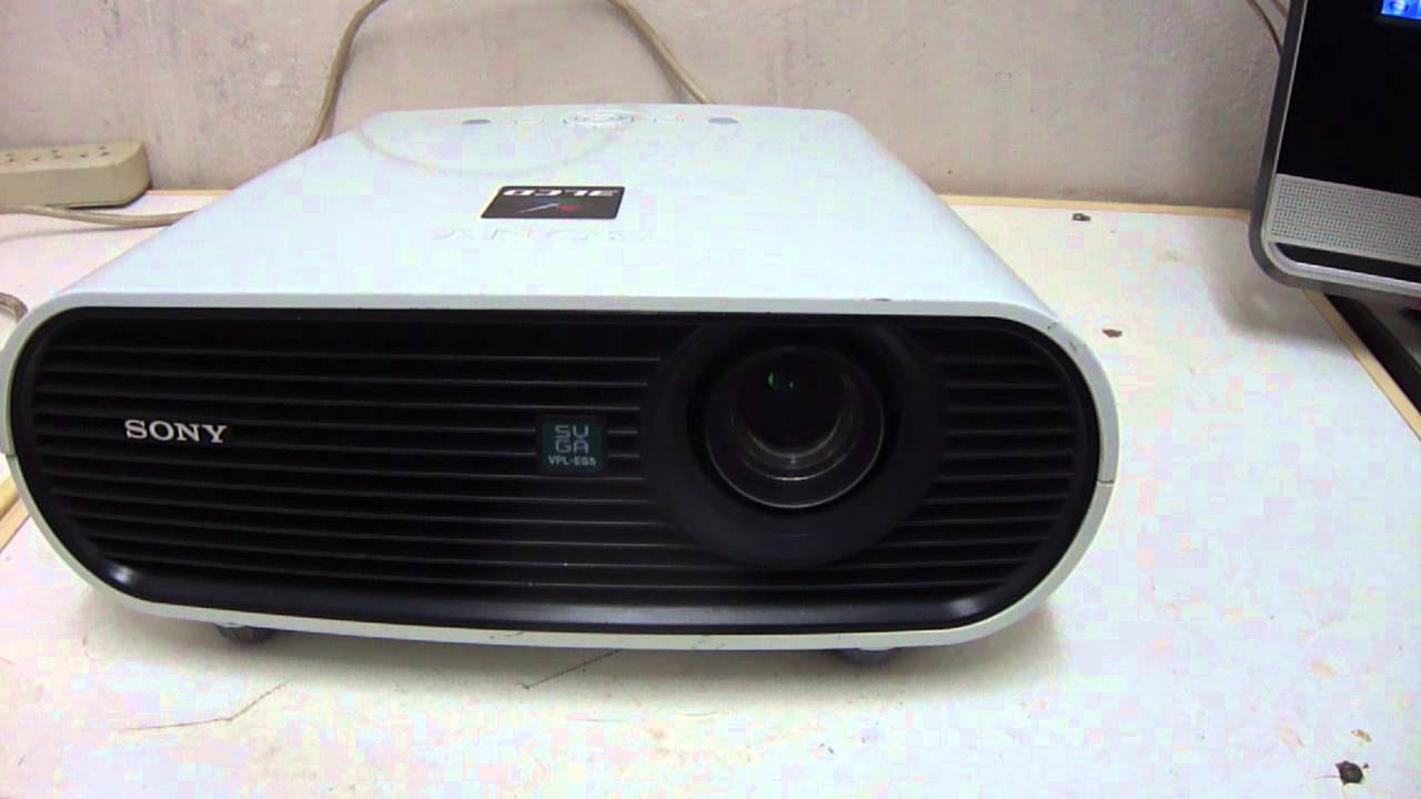 Sony xga vpl ex5 projector, problem is lines on display,how to.