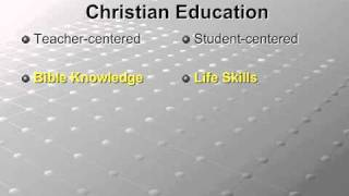 Teacher Training # 1 - Paradigm Shifts in Christian Education