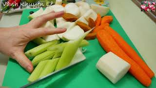 BÁNH CANH CHAY - Tự làm Bánh Canh 10 phút, Bánh Canh Nấm thơm ngọt by Vanh Khuyen