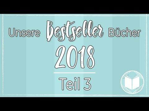Bestseller Bücher 2018 | Bücher, die man gelesen haben muss! – Teil 3